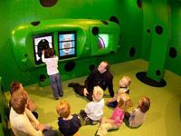 Museum van Beeld en Geluid Den Haag in Den Haag, Zuid-Holland