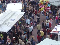Paasmarkt Panningen in Panningen, Limburg