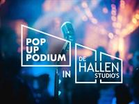 Popup Podium in De Hallen Studio's in Amsterdam