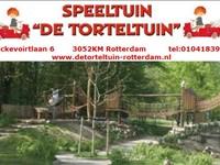 Speeltuin De Torteltuin in Rotterdam, Zuid-Holland