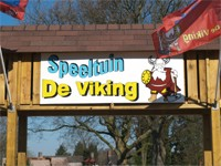 Speeltuin De Viking in Geldrop, Noord-Brabant