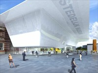 Stedelijk Museum in Amsterdam, Noord-Holland