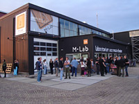 M-Lab theater in Amsterdam, Noord-Holland