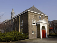Theater Schuurkerk in Maassluis, Zuid-Holland