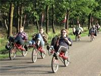 Treeker Treks (lig)fietsen in Leusden-Zuid, Utrecht