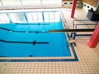 Zwembad In de Bandert in Echt, Limburg